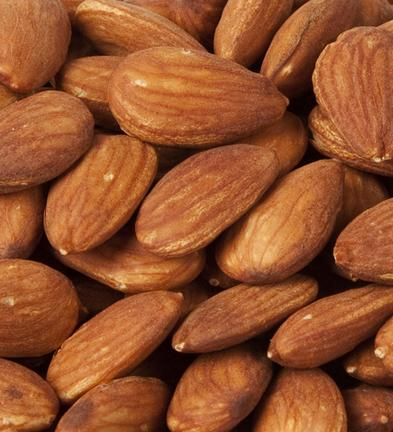 Natural Almonds (Skin on) - Roasted and Unsalted-Manufacturer-Half Nuts