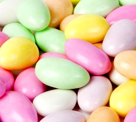 Jordan Almonds - Assorted Candy Coated