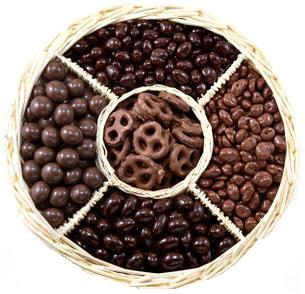 Chocolate Feast Gift Basket-Manufacturer-Half Nuts