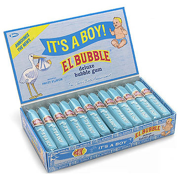 It's a Boy Bubblegum Cigars - Box-Manufacturer-Half Nuts
