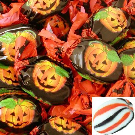 Orange Pumpkin Bon Bons-Manufacturer-Half Nuts