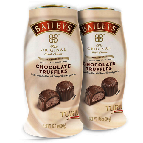 BAILEYS Original Irish Cream Chocolate Truffles-Half Nuts-Half Nuts