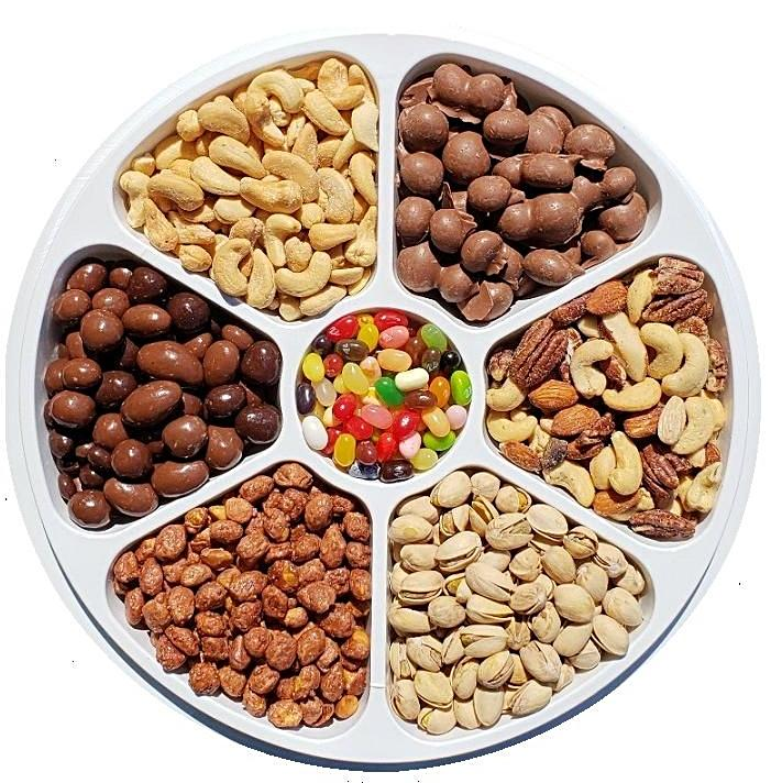 Our Bestseller's Party Tray-Half Nuts-Half Nuts