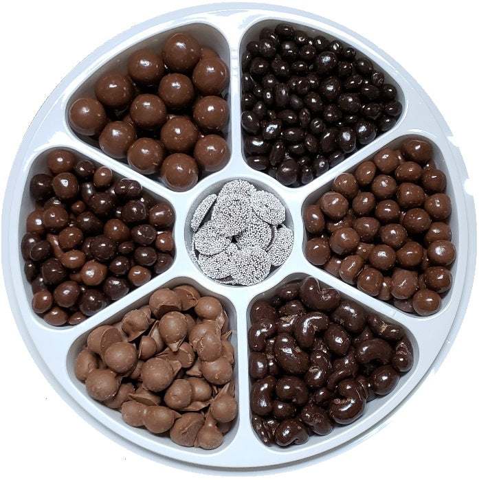 Chocolate Lover's Party Tray-Half Nuts-Half Nuts