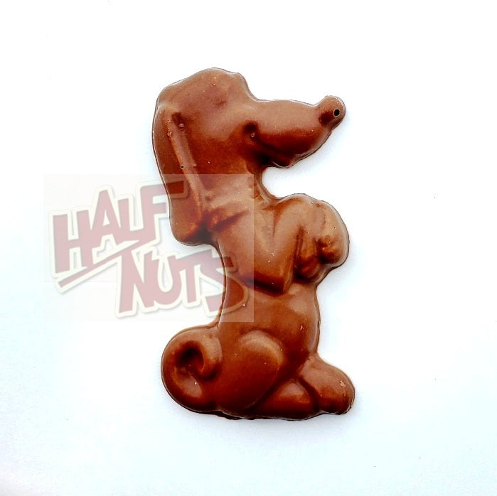Sayklly Milk Chocolate Dog-Half Nuts-Half Nuts