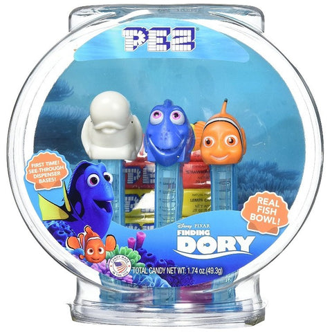 PEZ - Finding Dory Fish Bowl 3pk