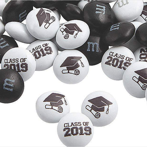 M&M's - 2019 Graduation Blend-Half Nuts-One Pound-Half Nuts