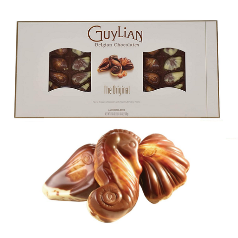 Guylian Belgian Chocolates, The Original-Half Nuts-Half Nuts