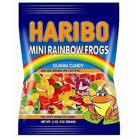Haribo Gummi Mini Rainbow Frogs