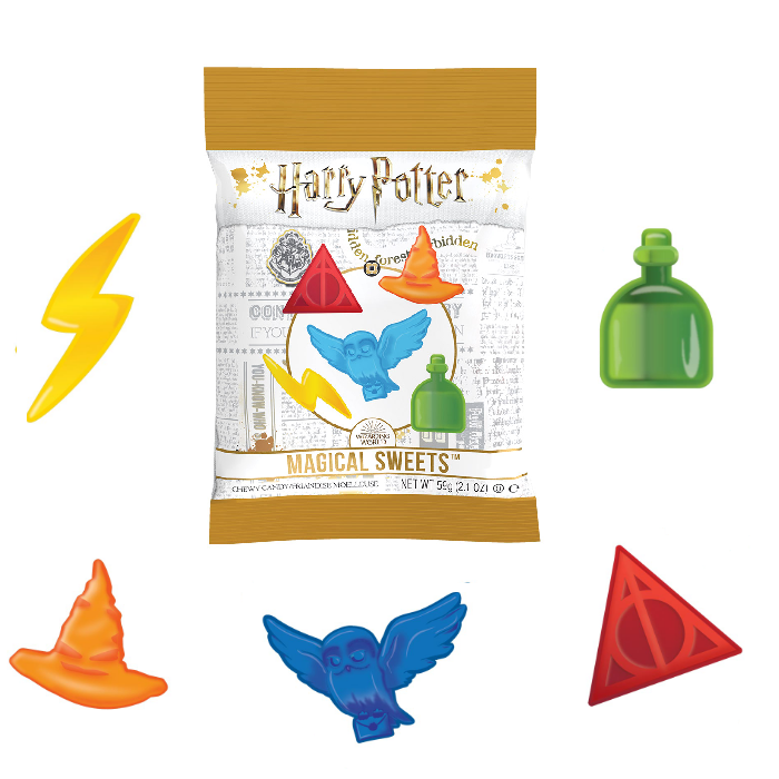 Harry Potter™ Magical Sweets-Half Nuts-Half Nuts