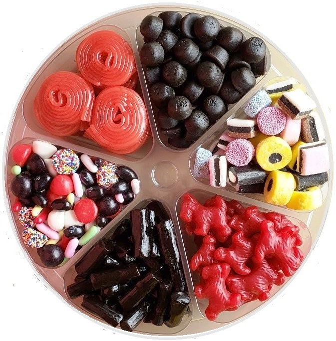 Licorice  Candy Gift Tray