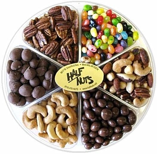 Nuts and Sweets Gift Tray-Manufacturer-Half Nuts