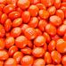 M&Ms - Orange-Manufacturer-One Pound-Half Nuts