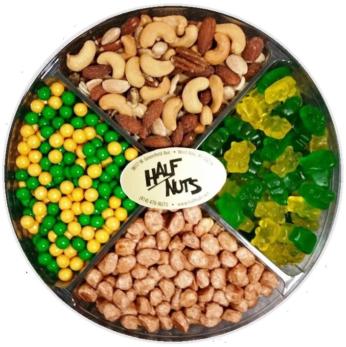 Packer Backer Gift Tray-Half Nuts-Half Nuts