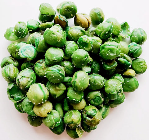 Green Peas - Roasted, Salted-Manufacturer-Half Nuts