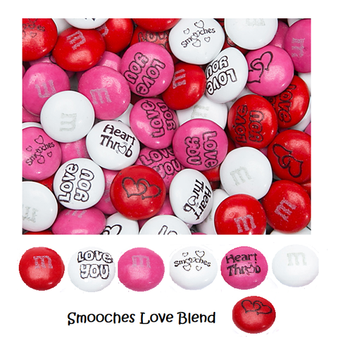 "M&M's - ""Smooches"" Love Blend-Half Nuts-One Pound-Half Nuts"