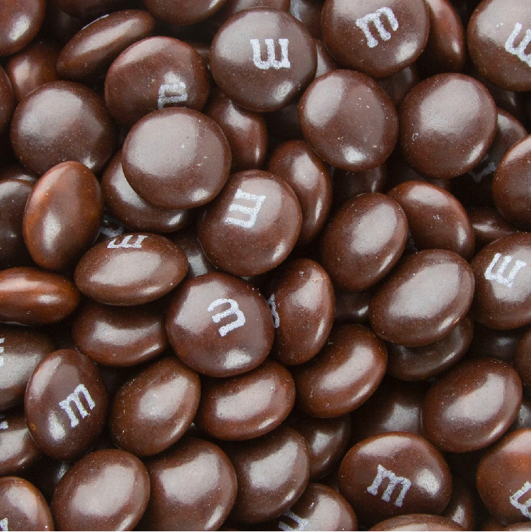 Chocolate Brown M&Ms