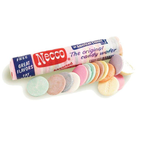 Necco Classic Candy Wafers-Half Nuts-Half Nuts