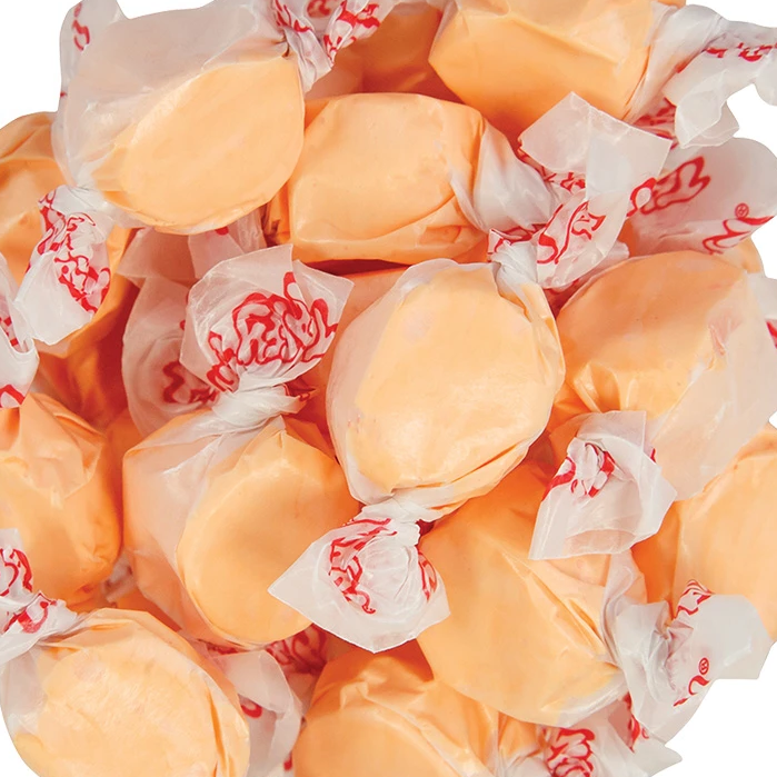 Taffy Town Cantaloupe Salt Water Taffy-Manufacturer-Half Nuts