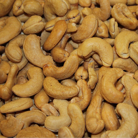 Jumbo Cashews - Roasted, Unsalted-Manufacturer-Half Nuts