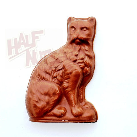 Sayklly Milk Chocolate Cat-Half Nuts-Half Nuts