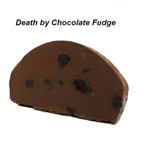 Devon's Mackinac Island Fudge - Death by Chocolate-Half Nuts-Half Nuts