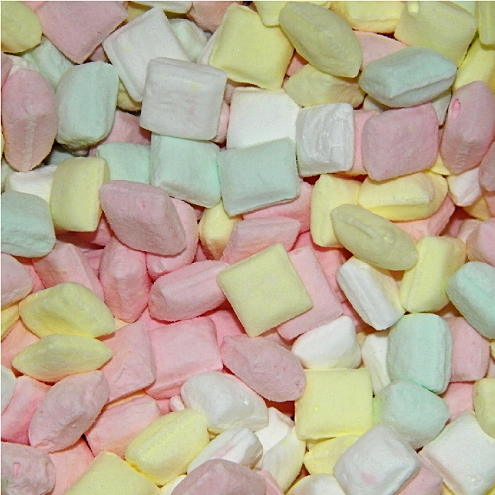 Assorted Dinner Mints - Half Nuts
