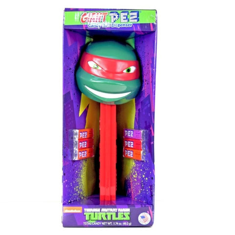 PEZ - Giant Teenage Mutant Ninja Turtle Raphael