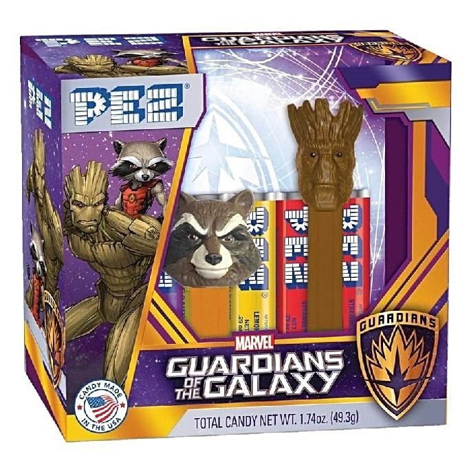 PEZ - Guardians of the Galaxy TwinPack Gift Set-Half Nuts-Half Nuts