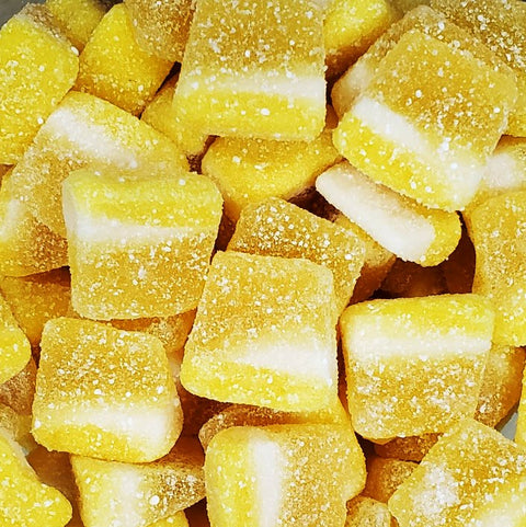 Gummi Sour Jacks - Lemon-Half Nuts-Half Nuts
