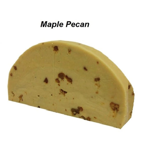 Devon's Mackinac Island Fudge - Maple Pecan-Half Nuts-Half Nuts