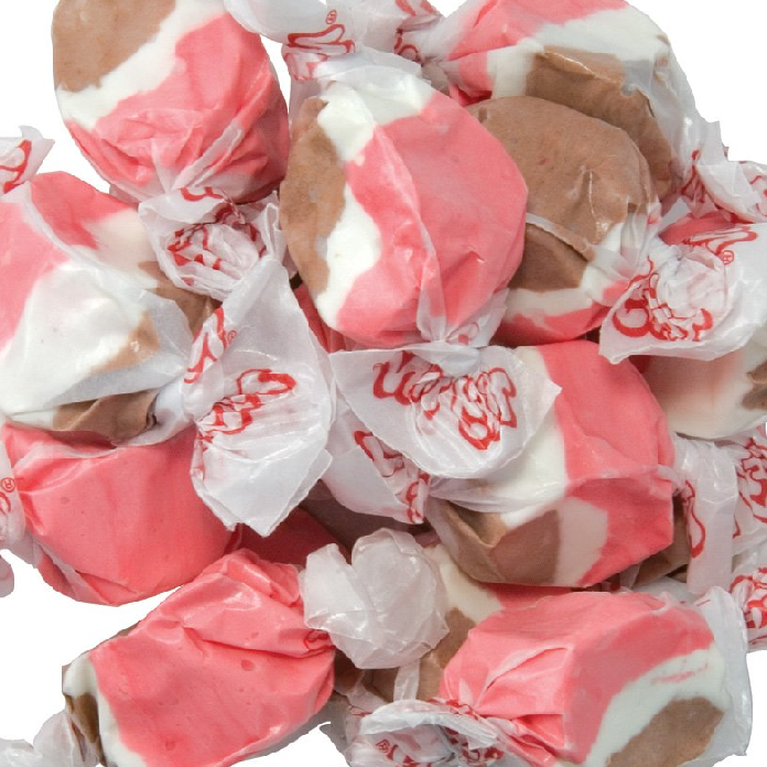 Taffy Town Neapolitan Salt Water Taffy-Manufacturer-Half Nuts