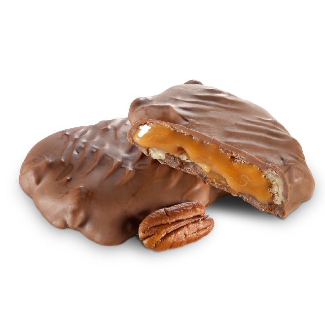Milk Chocolate Pecan Turtles-Manufacturer-Half Nuts