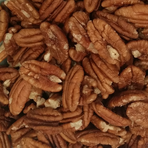 Pecans - Roasted, Unsalted-Manufacturer-Half Nuts