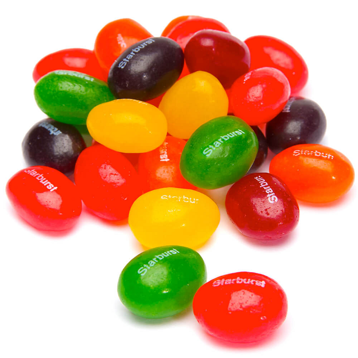 Jelly Beans - Starburst-Half Nuts-Half Nuts