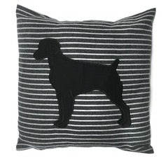 Three Wags Brittany Throw Pillow