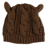 Clothing And Accessories - Wool Cat Ear Beanie