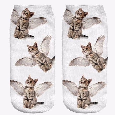 Gifts - Fun Cat Ankle Socks