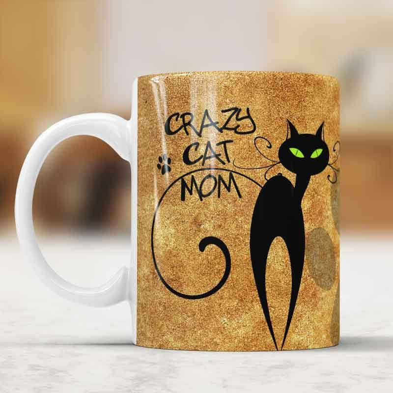 Mugs And Drinkware - Crazy Cat Mom Mug