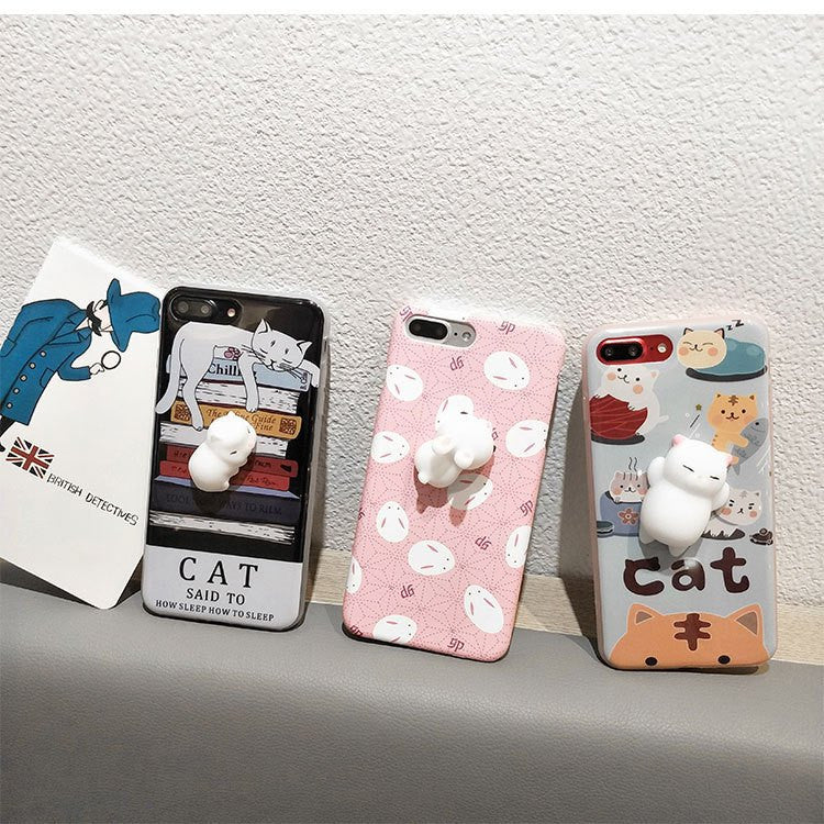 Phone Accessories - 3D Cute Squishy IPhone Case 6/6s/7 Plus