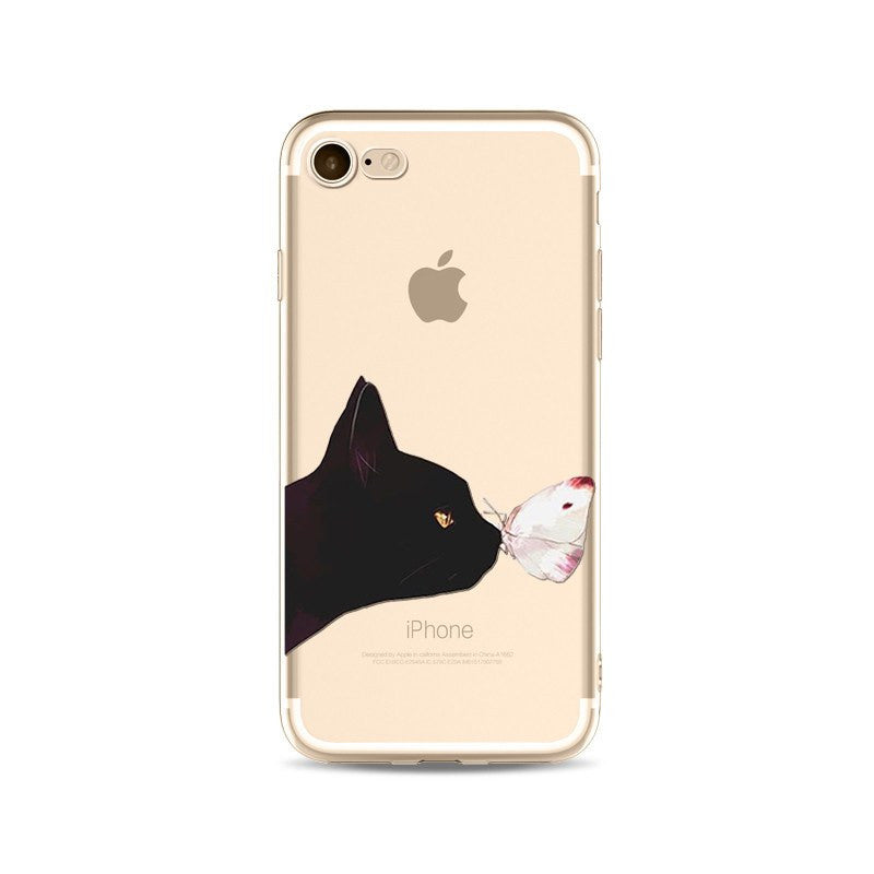 Phone Accessories - Cat Collection IPhone Cases - Fits IPhone 5/5s/SE 6/6s 6Plus/6sPlus 7 7Plus