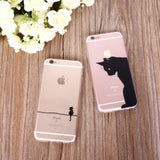 Phone Accessories - Funny Cats Phone Cases For Iphone 5/5S/SE 6/6S 7 And Plus