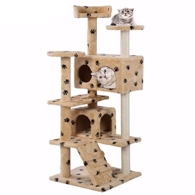 Toys - Cat Tree Tower Condo And Scratching Post