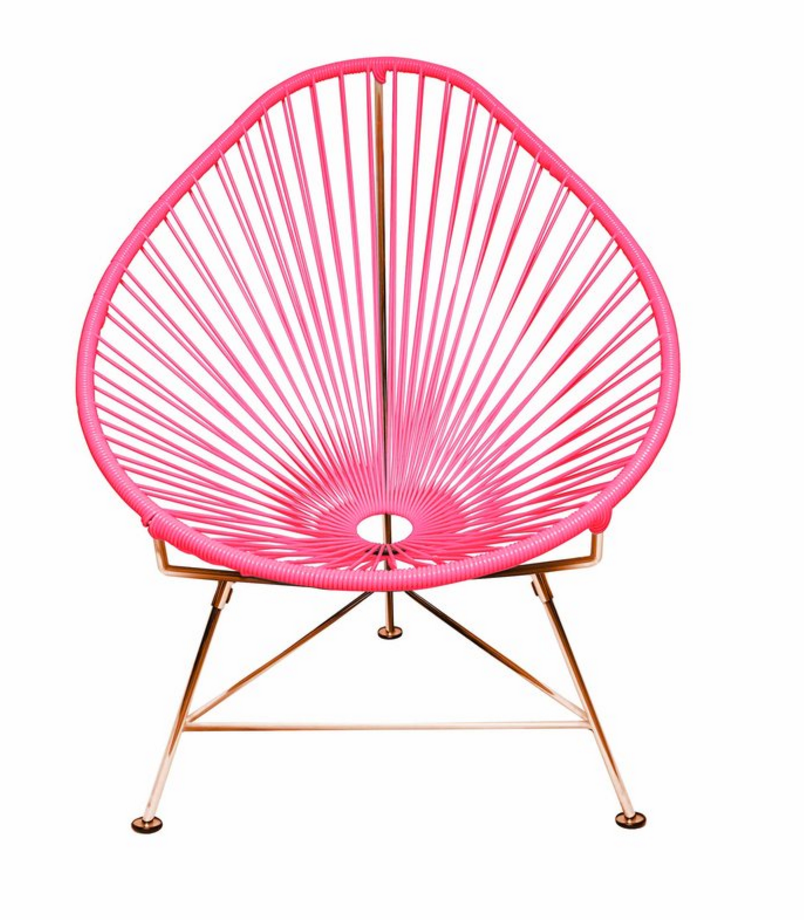 Acapulco Chair on Copper Frame