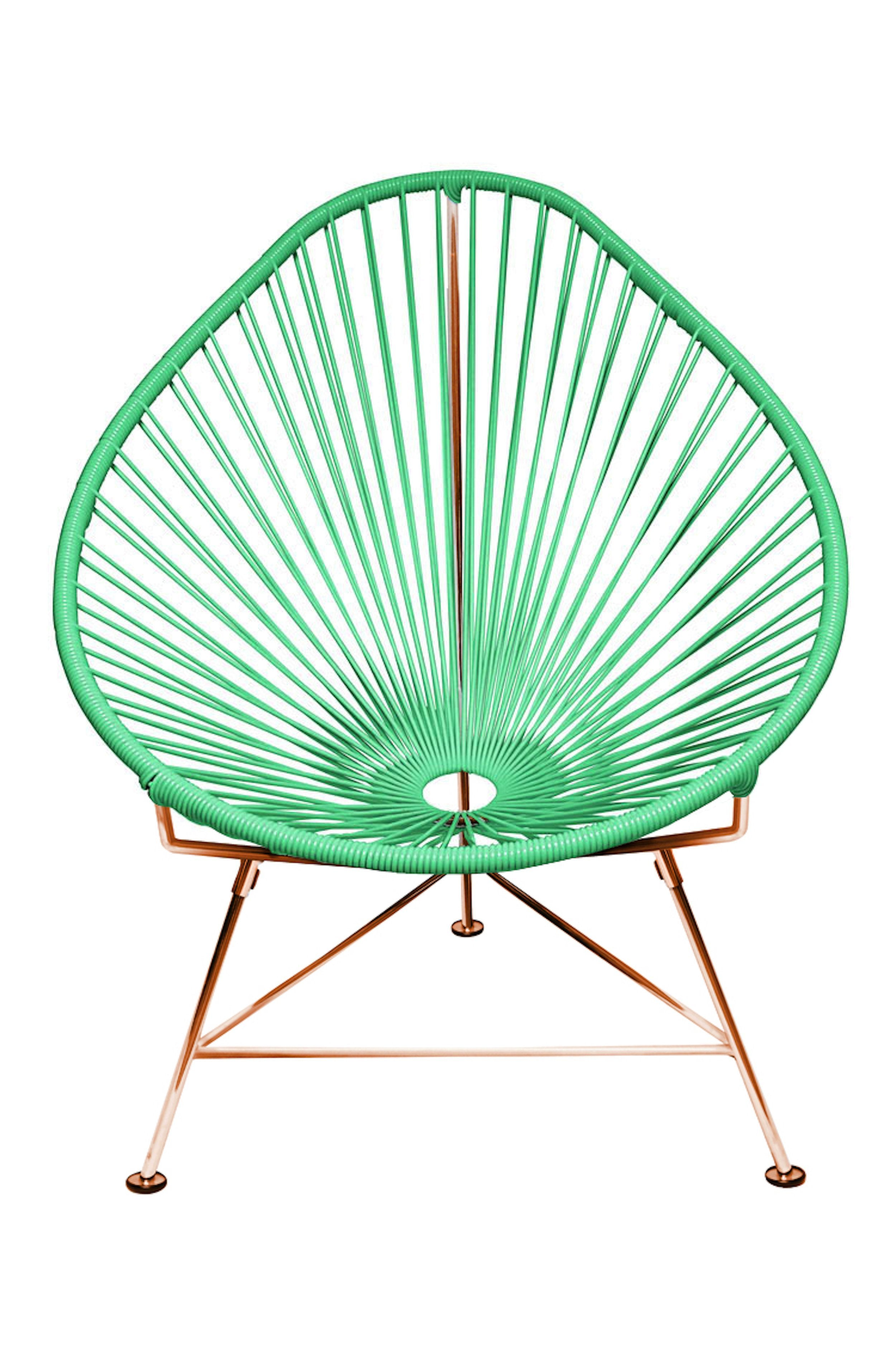 Sensational Buy Acapulco Chair On Copper Frame At Lifeix Design For Only Andrewgaddart Wooden Chair Designs For Living Room Andrewgaddartcom