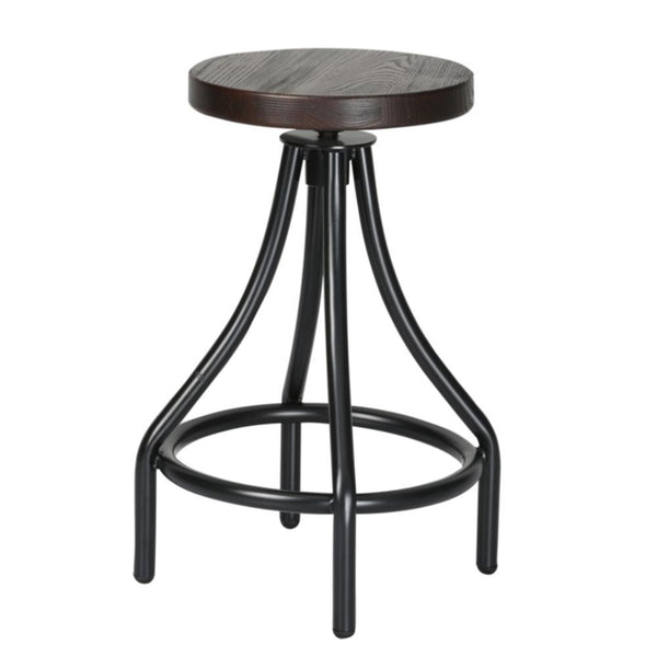 Walnut Alta Counter Stool