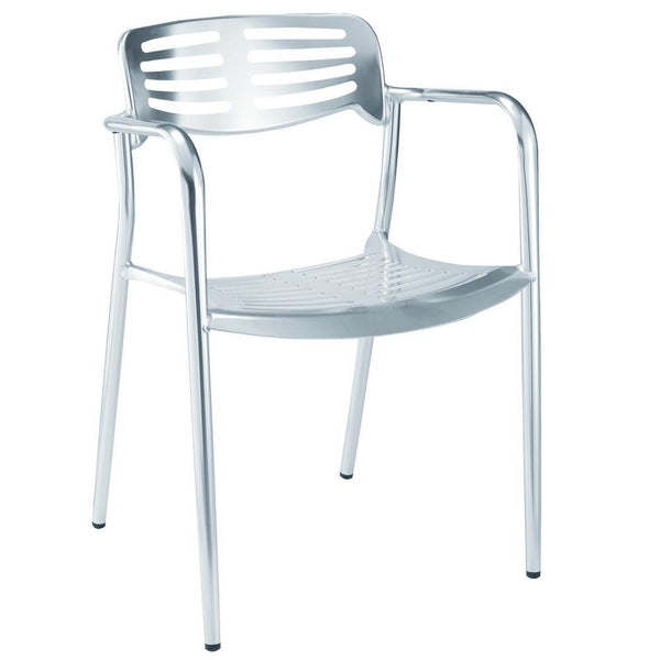 Aluminum Aluminum Dining Chair