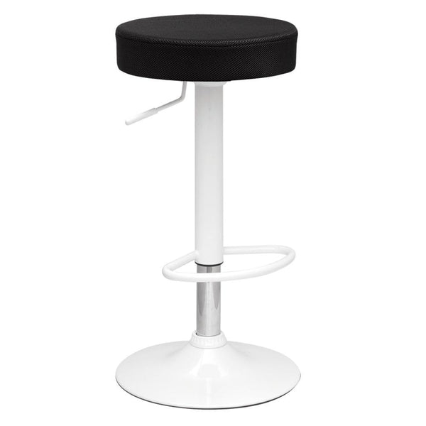 Black Angle Bar Stool