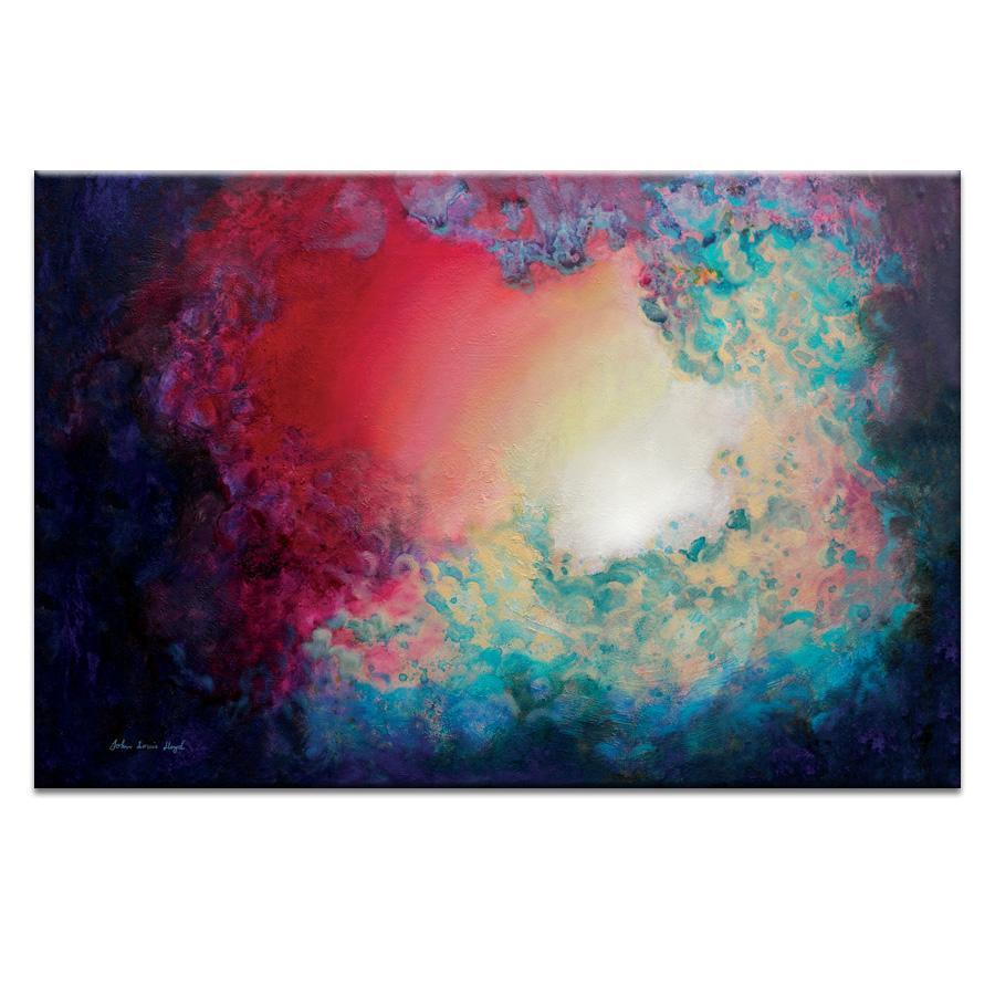 "Artwork 20x30x1.5"" Approaching Dawn  Artwork by John Louise Llyod"