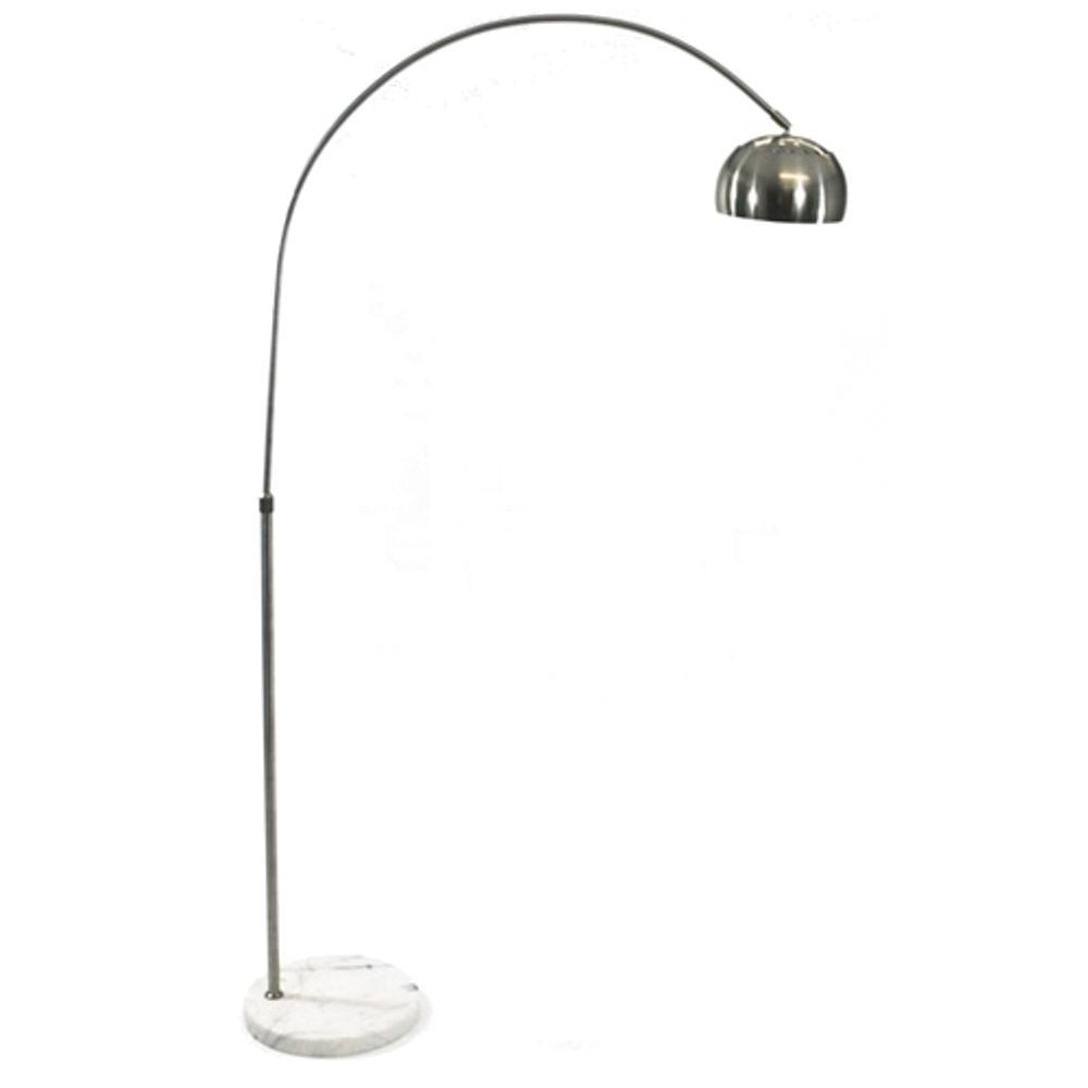 White Arco Coster Lamp